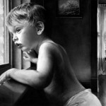 Boy at a Window