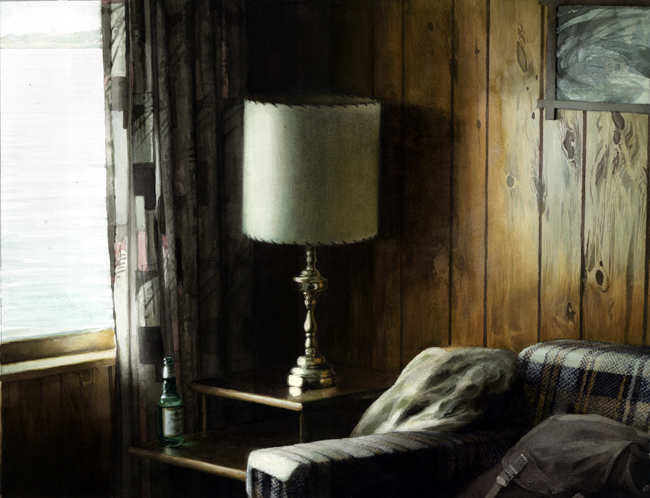 Artwork titled Lakeshore Motel Lamp